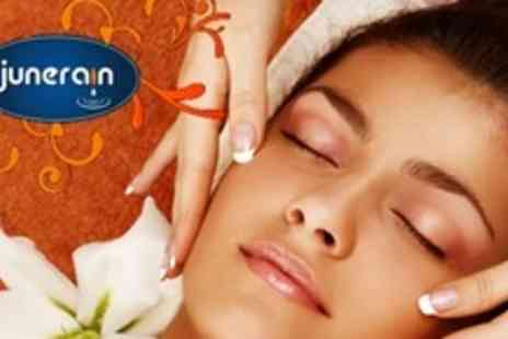 Junerain Beauty & Bridal - One Sessions of Microdermabrasion or Microcurrent Facial - Save 66%