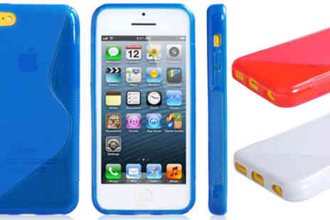RedHotDealz - An iPhone 5c Gel Case in a choice of colours - Save 62%
