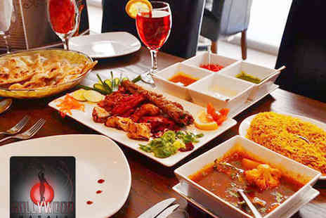 Bollywood Masala - Two Course Indian Meal for Two People - Save 62%