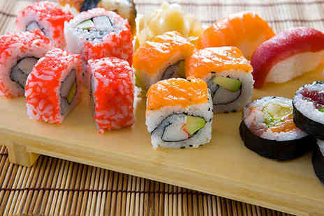 Sakushi - Eight Colour Coded Plates of Sushi  - Save 61%