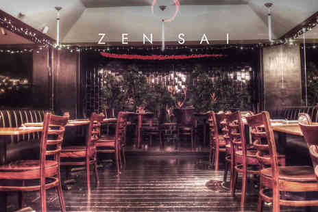 Zensai Bar - Five Course Tasting Menu with Tropical Bellini for One - Save 50%