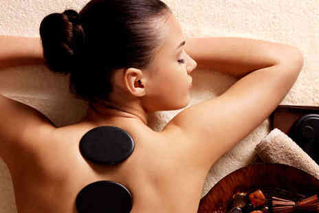 Perkins Health - Hot Stone Massage or Crystal Clear Facial  Manicure or Pedicure and a Glass of Bubbly for One- Save 71%