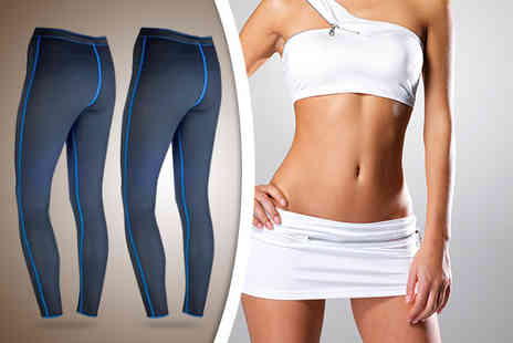 Spartzy - Pair of L 100 exercise leggings - Save 73%