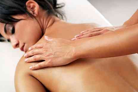 Simply Massage - Facial Plus Back Neck and Shoulder Massage - Save 65%