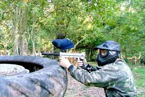 Project Paintball - Project Paintball Full Day With Light Lunch For Two - Save 85%