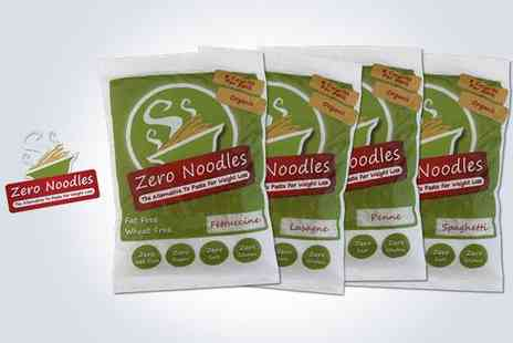 Zero Noodles - 24 x 200g packs of Noodles - Save 52%