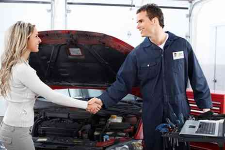 Holt Road Garage Services - 66 Point Car Service Plus Wheel Alignment - Save 71%