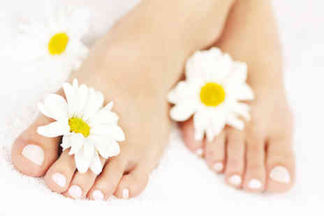 Mystic & Holistic - One hour foot treatment including pedicure and sea salt scrub - Save 66%