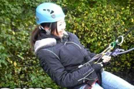 LargeOutdoors - Abseil Experience and Peak District Walk - Save 60%