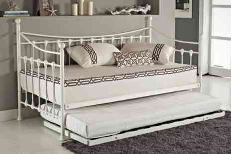 GRS Global - French Day Bed Including Trundle - Save 70%