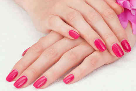 Nails By Mina - Luxury Manicure or Pedicure with Polish - Save 52%