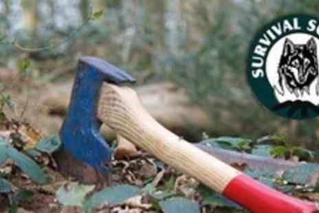 Survival School - Tree Identification and Wood Carving Course - Save 64%