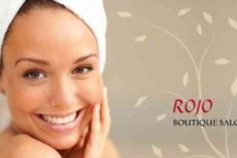 Rojo Boutique Salon - Choice of Four Beauty Treatments From Selection Including Mani Q Manicure and Massage - Save 72%
