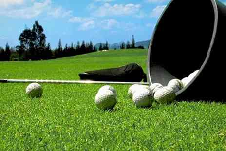 Castle Golf Range - Three One Hour Lessons For One - Save 58%