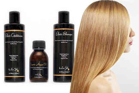 Les Joli - Argan Oil Elixir Shampoo and Elixir Conditioner - Save 52%