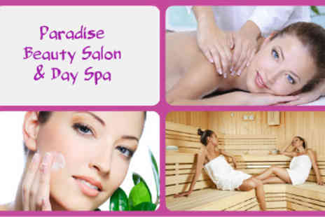 Paradise Beauty Salon - Choice of 2.5 Hour  Spa Package - Save 50%