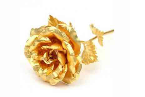 Spicy Dcor - Beautiful 24K Gold Rose - Save 46%