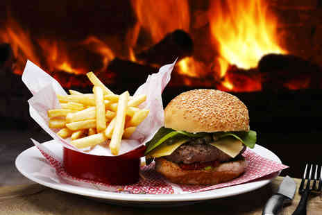 WAX London - Burger meal for 2 including a bottle of beer or glass of wine - Save 51%