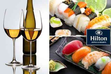 Takara - Sushi platter and a bottle of Los Romeros Sauvignon Blanc for two - Save 61%