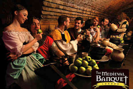 The Medieval Banquet - Four Course Medieval Banquet for Two - Save 51%