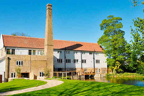 Tuddenham Mill - Gourmet Treats in a Boutique Suffolk Hotel - Save 50%