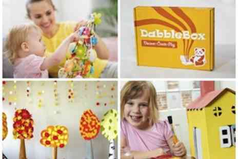 vDabble - One Month Subscription To v Dabble  A Fun Learning and Activity Box  - Save 53%