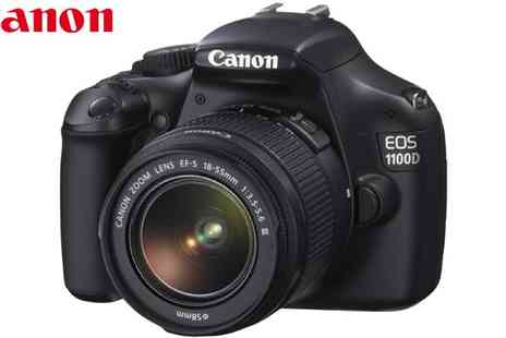 Ask Electronics - Canon EOS 1100D Digital SLR with Lens Kit - Save 27%