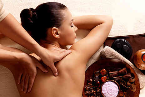 Brown Cow Salon - Hot stone massage scalp massage and facial - Save 63%