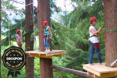 Get Wet The Adventure Company - High Ropes Course Entry - Save 60%