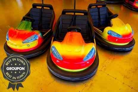 LA Bowl - Bowling and Bumper Cars For Six - Save 81%