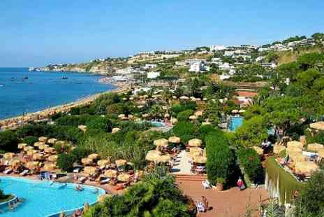 Econtravel - In Ischia Two Night Half Board Stay For Two - Save 43%