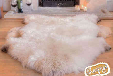 Sheepys - Extra Large Authentic Sheepskin Rug - Save 51%
