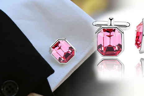 AMA Gifts - A charming Luxury cufflinks john made accessory - Save 77%