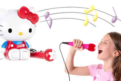 Sonic UK - Unleash your little girl's inner pop star with the cute & adorable Hello Kitty sing along karaoke - Save 48%