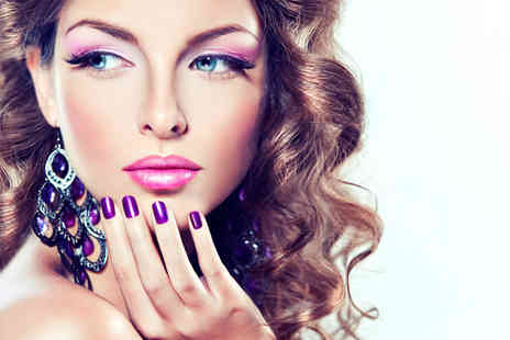 Skin Therapy - OPI manicure or pedicure in a choice of colours - Save 59%