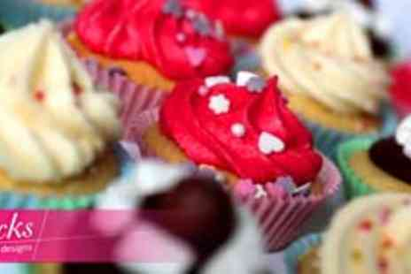Licks Cake Design - Handmade cupcakes in Choice of 3 flavours - Save 71%