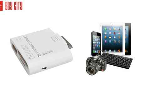 Bay City Ltd - 5 in 1 Camera Card Reader for iPad inc. Delivery - Save 46%