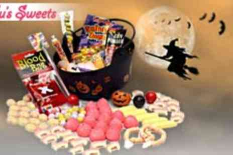 Lulus Sweets - Large Halloween Witches Cauldron full of lots of classic Sweets - Save 60%