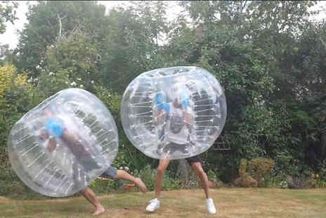 BodyZorbingHerts - One hour body zorbing experience for 2 people - Save 60%