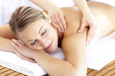 Just Relax Therapies - 30 minute back  neck and shoulder massage & 1 hour holistic facial - Save 72%