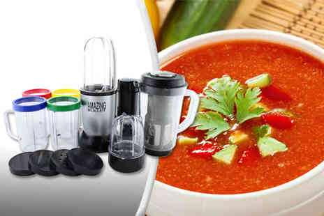 Osmoux - 17 piece Amazing Bullet multi blender - Save 75%