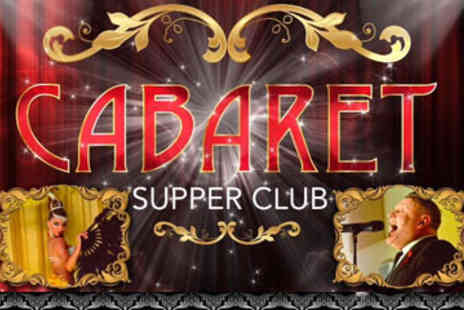 Cabaret Supper Club - Brunch and Prosecco For Two plus Live Entertainment  - Save 55%