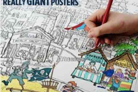Really Giant Posters - Really GIANT Colouring In Posters  - Save 50%