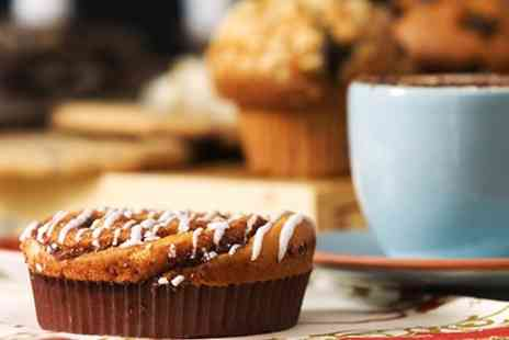 Roots - Coffee or Tea With Cake For Two - Save 0%