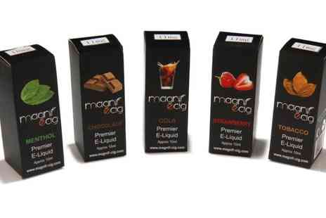 MagnifeCig - Check out 4x10ml Electronic Cigarette E Liquids in 11 Flavours - Save 58%