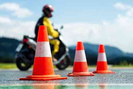 Alpha Motorcycle Training Centre - One day motorcycle Compulsory Basic Training course - Save 47%