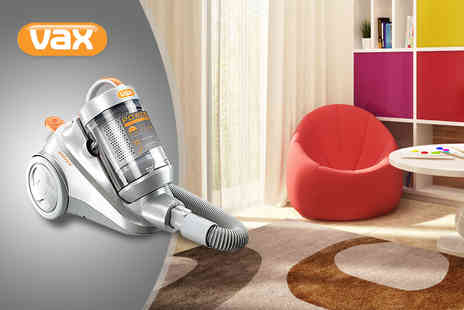 Atlantic Electronics - VAX Powermax 2000W bagless cylinder vacuum cleaner - Save 35%