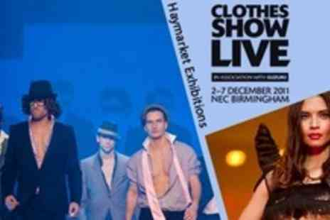 Haymarket Exhibitions - Ticket to Clothes Show Live For Choice of Days Including Sunday - Save 50%