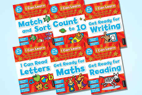 Kids IQBooks - Six Book I Can Learn' Educational Series - Save 58%