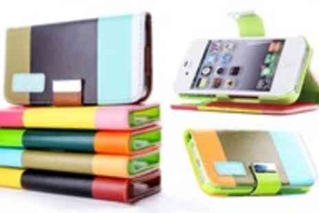 Mobileheads - Chic faux leather wallet bundle for iPhone & Samsung - Save 68%